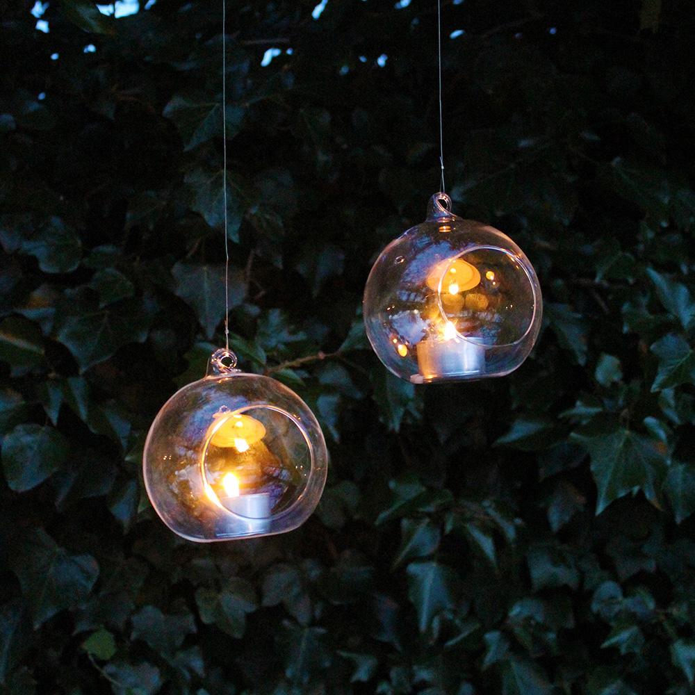 clear bauble tea light holder bonningtons. Black Bedroom Furniture Sets. Home Design Ideas