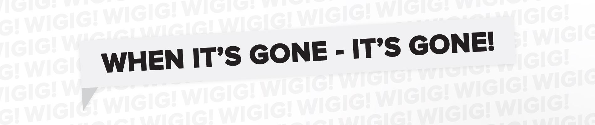 When It'S Gone, It'S Gone