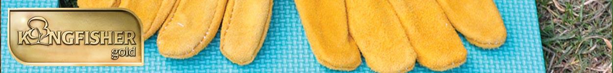 Gold Gardening Gloves