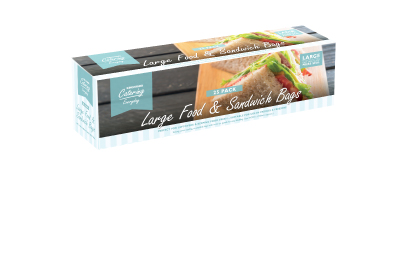 Sandwich Food and Freezer Bags