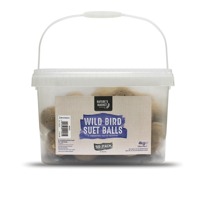 50 Pack of Suet Fat Balls [NOT EU]