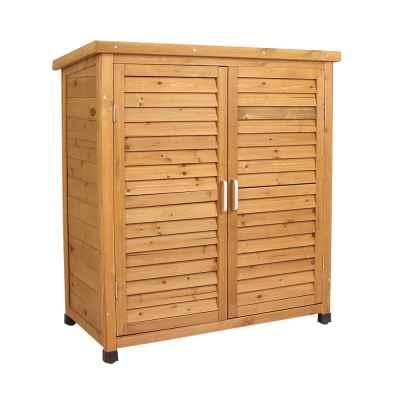 Wooden Garden Storage Cabinet