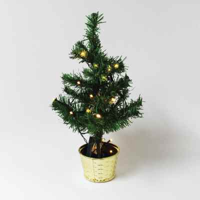35cm Tree in Gold Pot