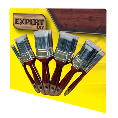 10 Piece Deluxe Paint Brush Set