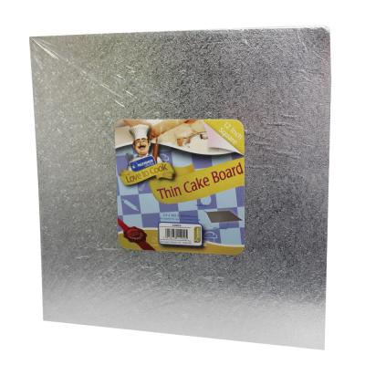 12 Inch (30cm) Square Thin Cake Board