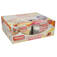 6 Pack Scented Dehumidifier Moisture Absorbers
