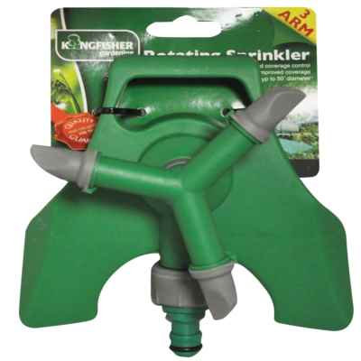 3 Arm Rotating Sprinkler