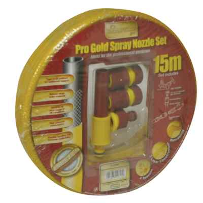15M Yellow Garden Hose