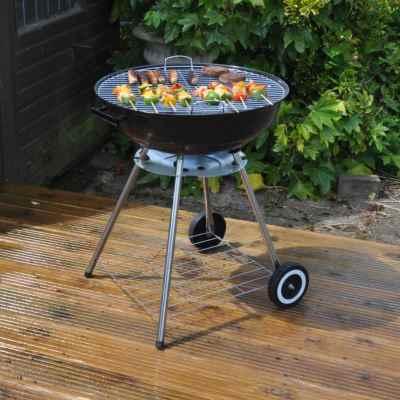 22 inch Kettle Steel BBQ