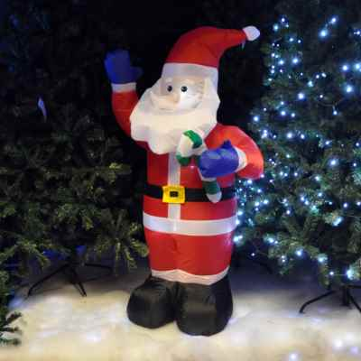 4ft Inflatable Santa Claus