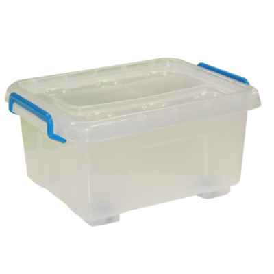 12L Plastic Storage Box With Wheels