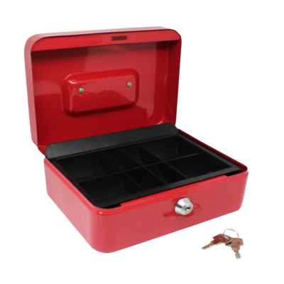 Steel Lockable Cash Box