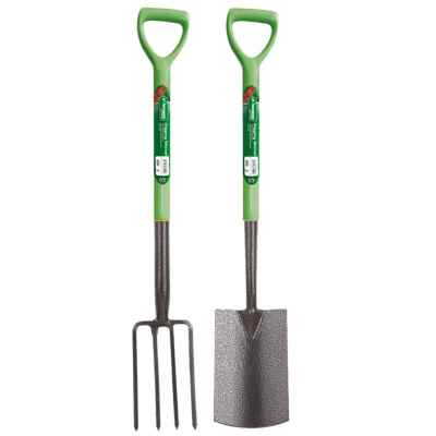 2 Piece Fork and Spade Set
