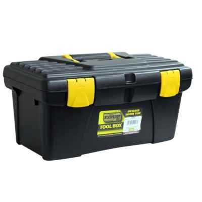 16 Inch Tool Box with Lift-Out Tray