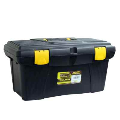 19 Inch Tool Box with Lift-Out Tray