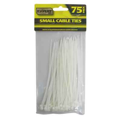 75 Pack of 14.5cm Small Cable Ties