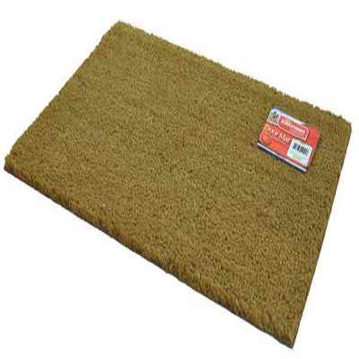 Natural Coir Rectangular Door Mat 40x60cm