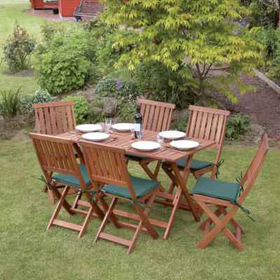 7 Piece Concord Hardwood Garden Furniture Set