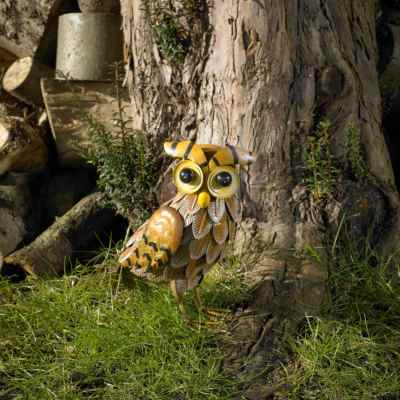 Garden Owl Ornament