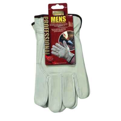 Men's Full Leather Gardening Gloves