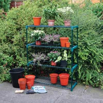 4 Shelf Greenhouse Staging