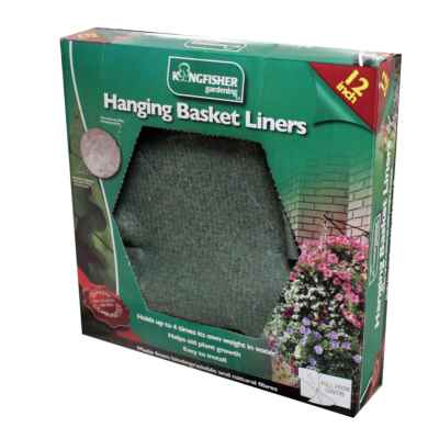 12in Jute Hanging Basket Liner