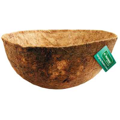 14 Inch Bowl Shaped Coco Hanging Basket Liner