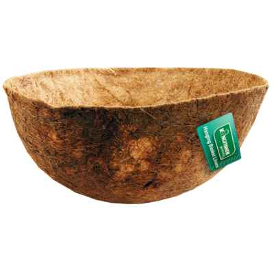 16 Inch Bowl Shaped Coco Hanging Basket Liner