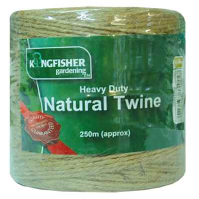 250m Heavy Duty Natural Twine