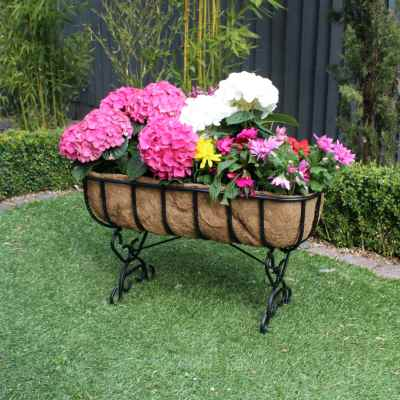 28 Inch Heavy Duty Standing Trough with Coco Liner
