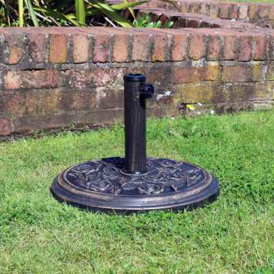 9kg Cast Iron Effect Parasol Base