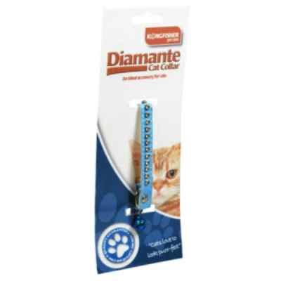 Diamante Cat Collar