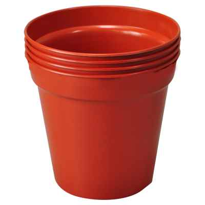 4 Pack x 13cm(5in) Plant Pots