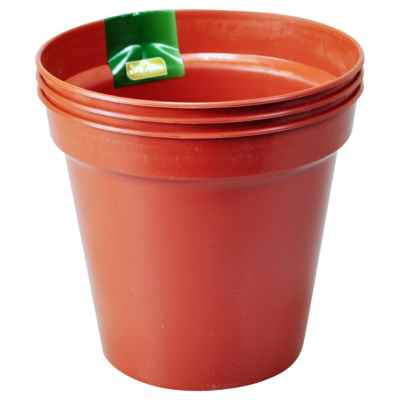 3 x 15cm (6in) Plant Pots