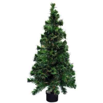 5ft (150cm) Colour Changing Fibre Optic Xmas Tree