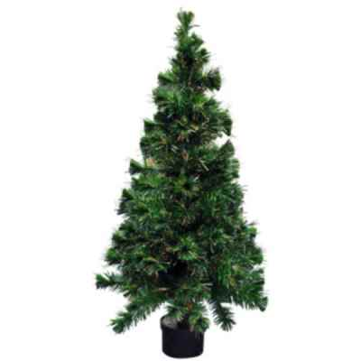 3ft (90cm) Colour Changing Fibre Optic Xmas Tree