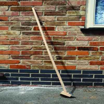 120cm Wooden Patio Brush