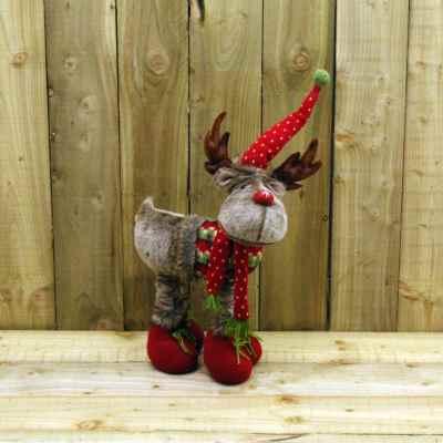 Small Telescopic Plush Reindeer
