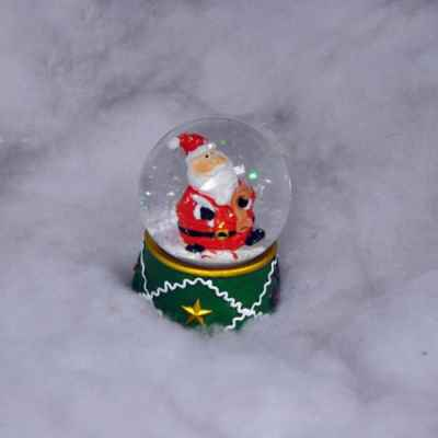65mm Snow Globe with LED