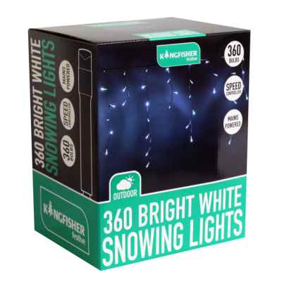 360 Bright White 3 Function Snowing Light