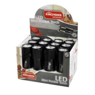 Mini Pocket 9 LED Torch