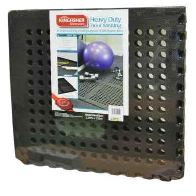 4 Piece Interlocking Heavy Duty Mat
