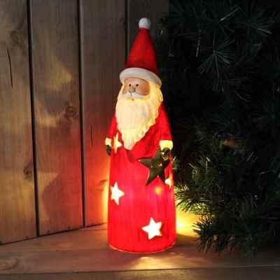 Tall Santa Candle Holder