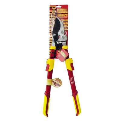 Pro Gold Deluxe Telescopic Ratchet Bypass Lopper
