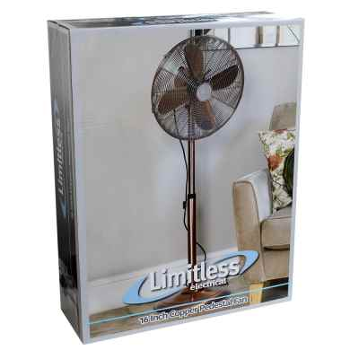 16 Inch Copper Pedestal Fan
