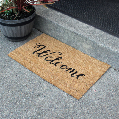 Welcome Door Mat 45 x 75cm
