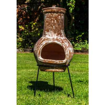 Terracotta Chiminea Small