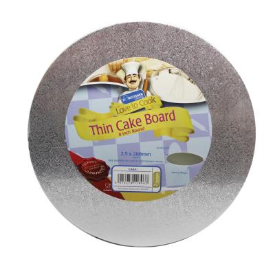 8 inch Round Thin Cake Board
