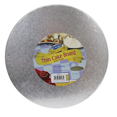10 inch (25cm) Round Thin Cake Board