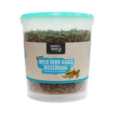 400g Tub Dried Mealworms Wild Bird Feed [NOT EU]
